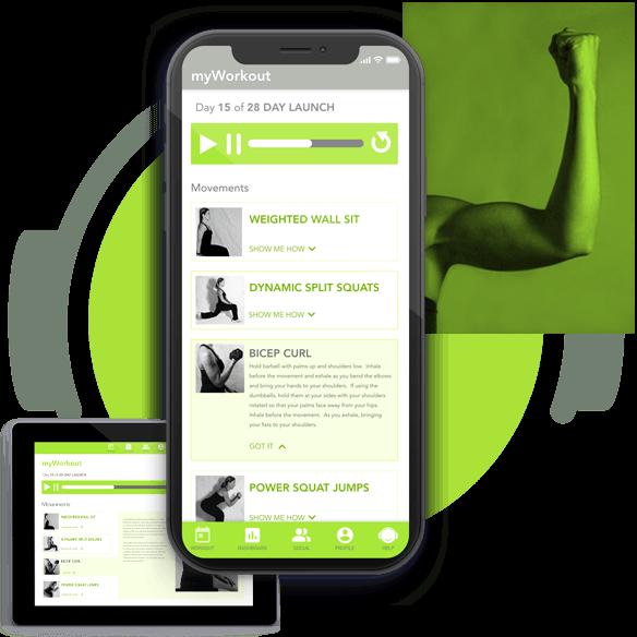 myVitFit fitness workout app